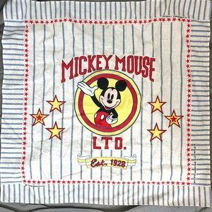 THE WALT DISNEY COMPANY Mickey Mouse Vintage Scarf